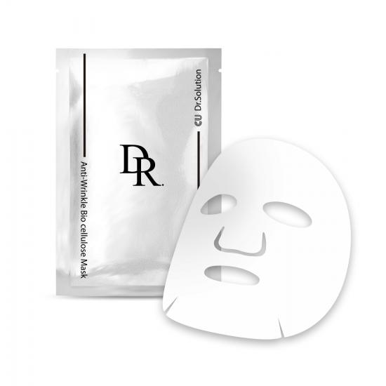 МАСКА ДЛЯ ЛИЦА С ПЕПТИДАМИ CU SKIN DR.SOLUTION ANTI-WRINKLE BIO CELLULOSE MASK