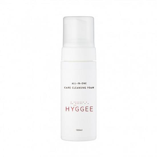 Очищающая пенка - HYGGEE All-In-One Care Cleansing Foam